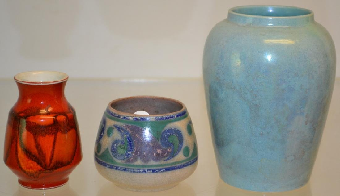 Poole and Ruskin Pottery Grouping