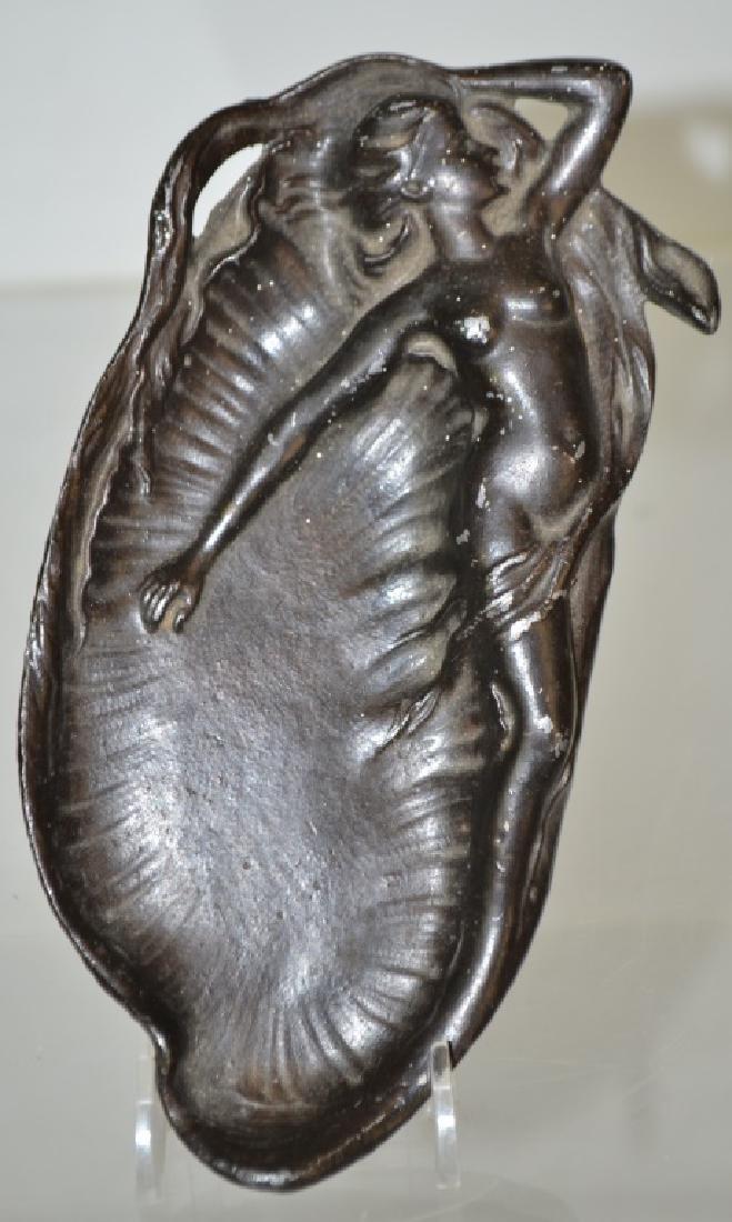 Art Nouveau Figural Nude Tray