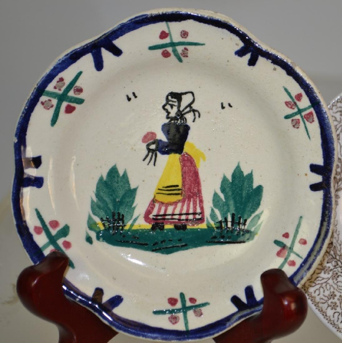 Transfer Ware Cup Plate Grouping - 4