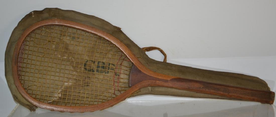 19th Century Tennis Racket