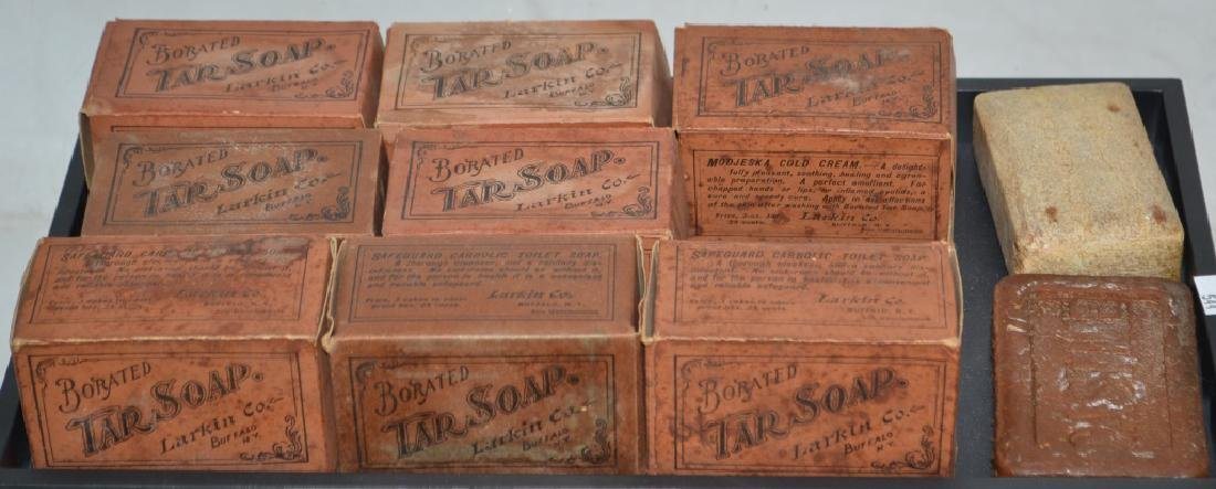 Larkin Borated Tar Soap in Original Boxes