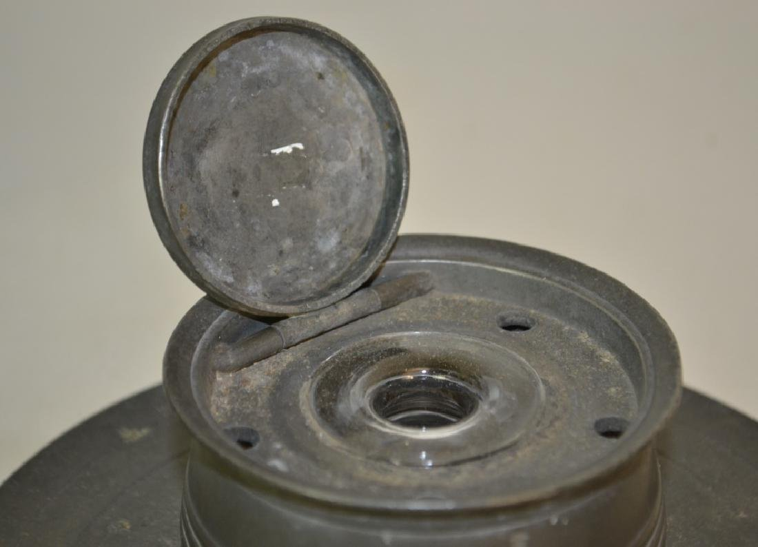 19th Century American Pewter Inkwell - 2