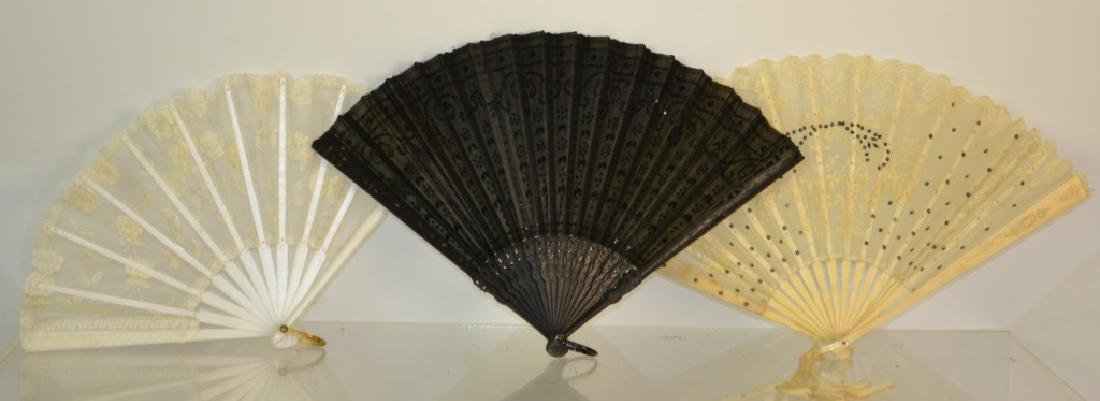 Lace Fan Grouping