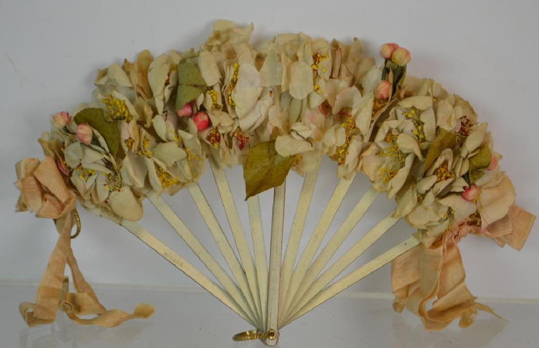 19th Century Flower Fan
