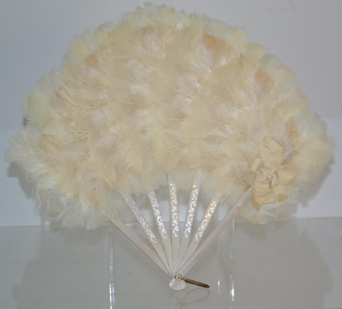 Vintage Feather Fan