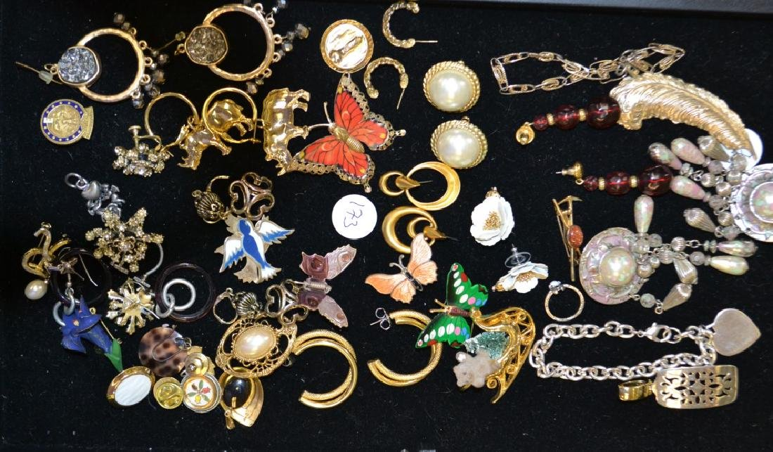Costume Earring Grouping.