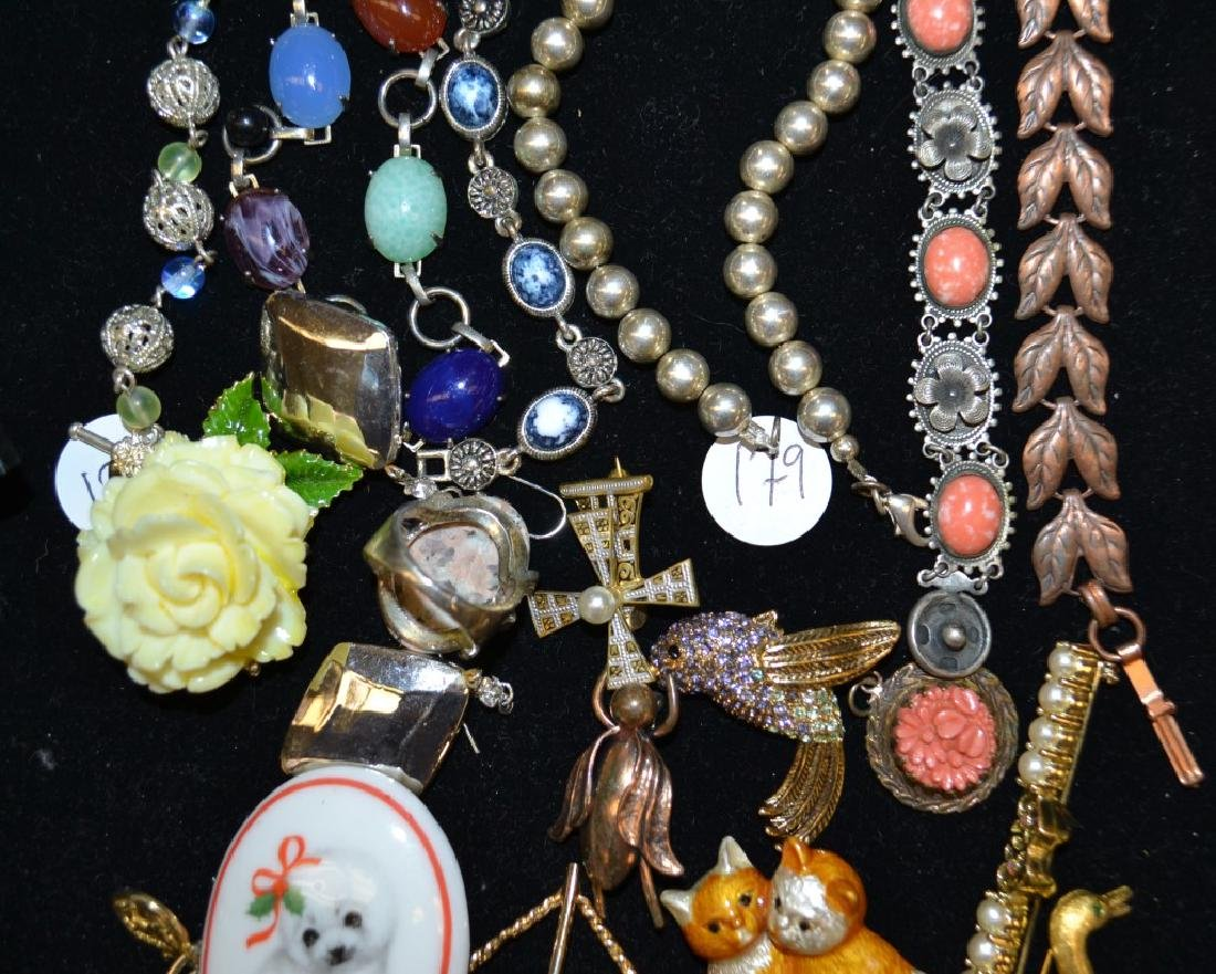 Mixed Costume Jewelry Grouping