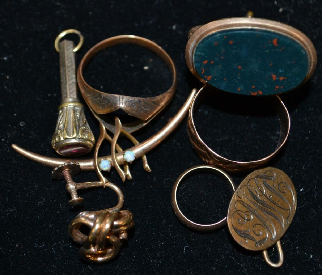Gold and Gold Filled Items