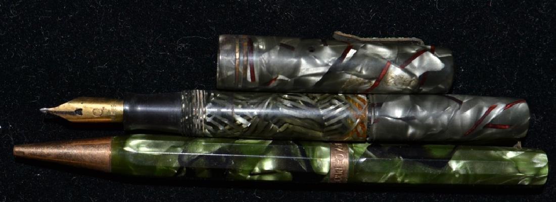 2 Celluloid Pens