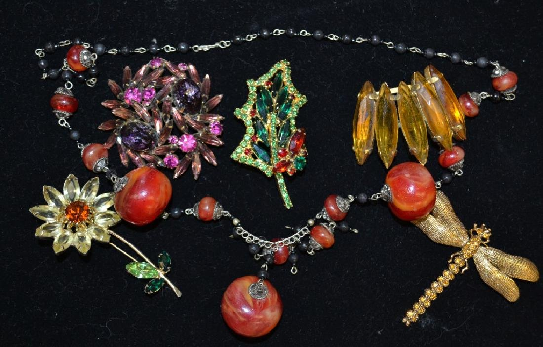 Dragonfly Brooch and More