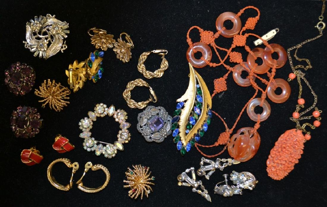 Vintage Earrings and Brooches