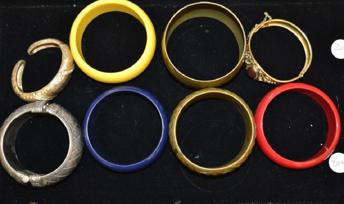 8 Large Bracelets