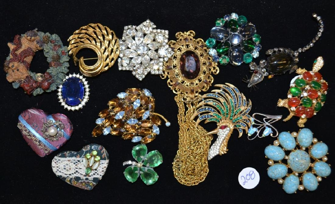 Figural Brooches and Others