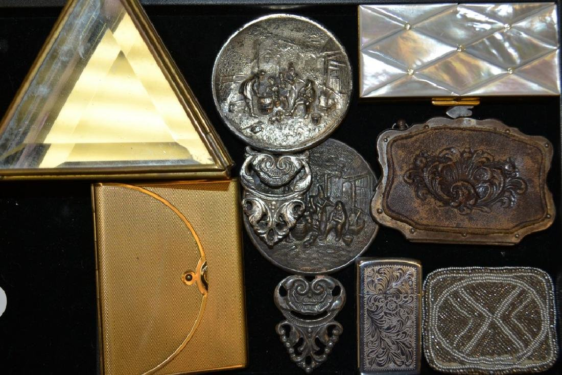 Pocket Mirrors and Boxes