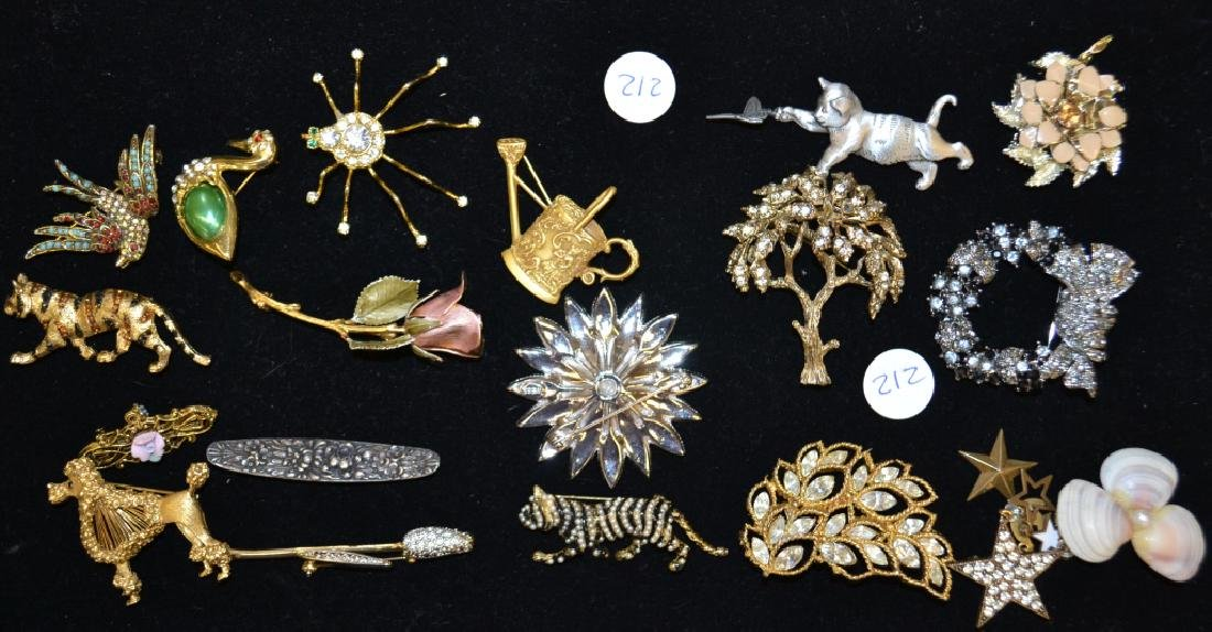 Figural Pins and Others