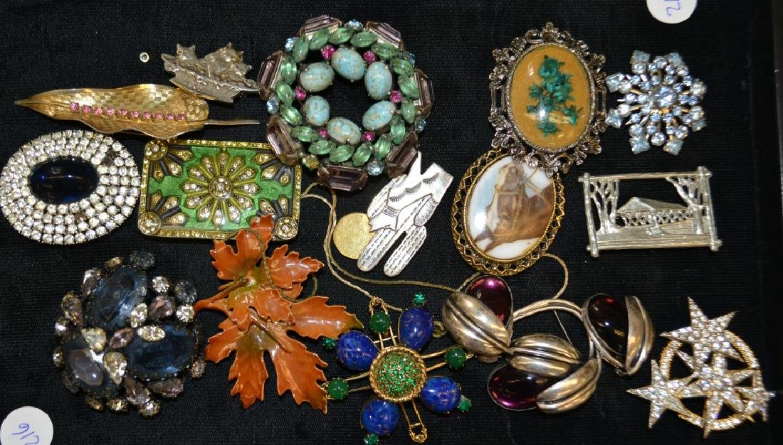 Collection of Massive Brooches