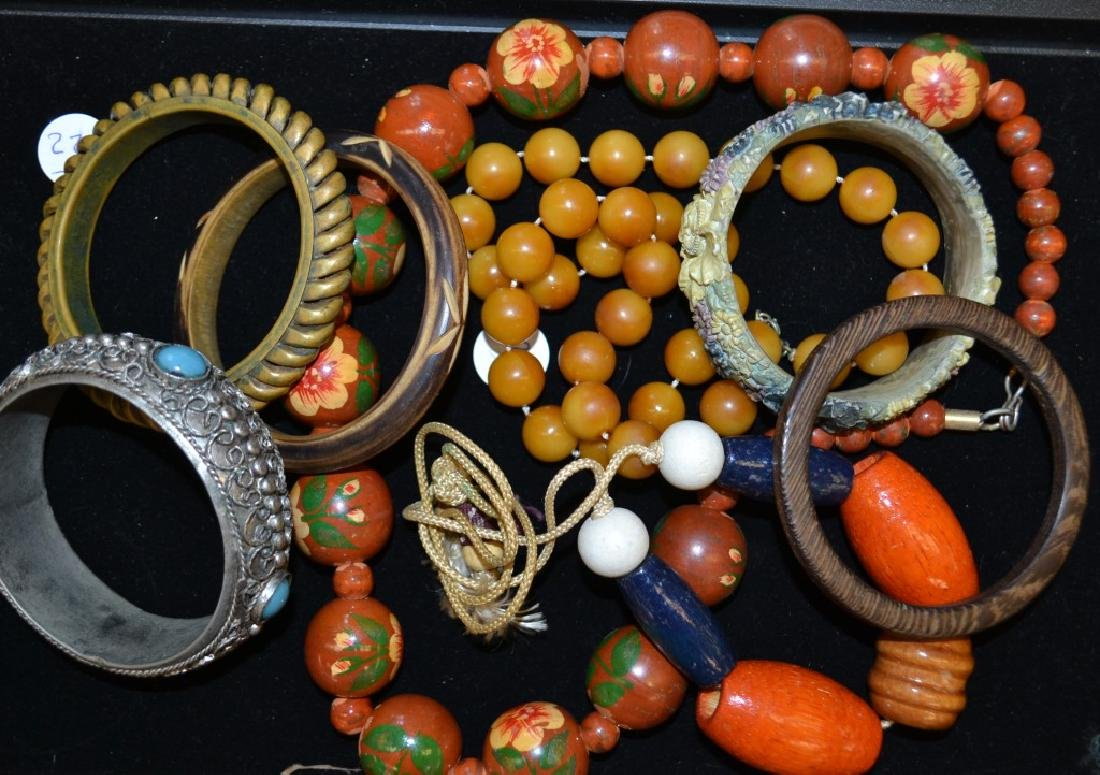 Bakelite and Other Jewelry