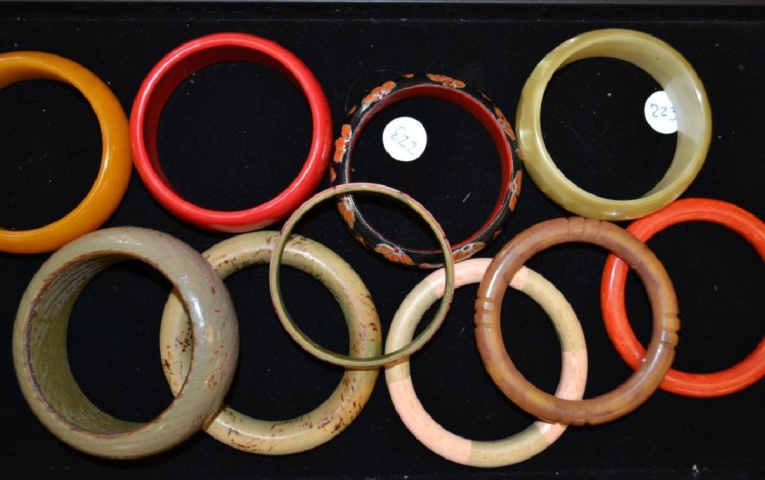 Grouping of Large Bangle Bracelets