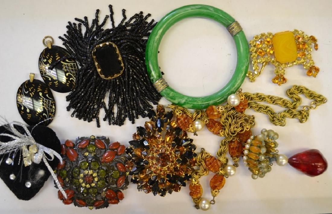 Impressive Costume Jewelry Grouping