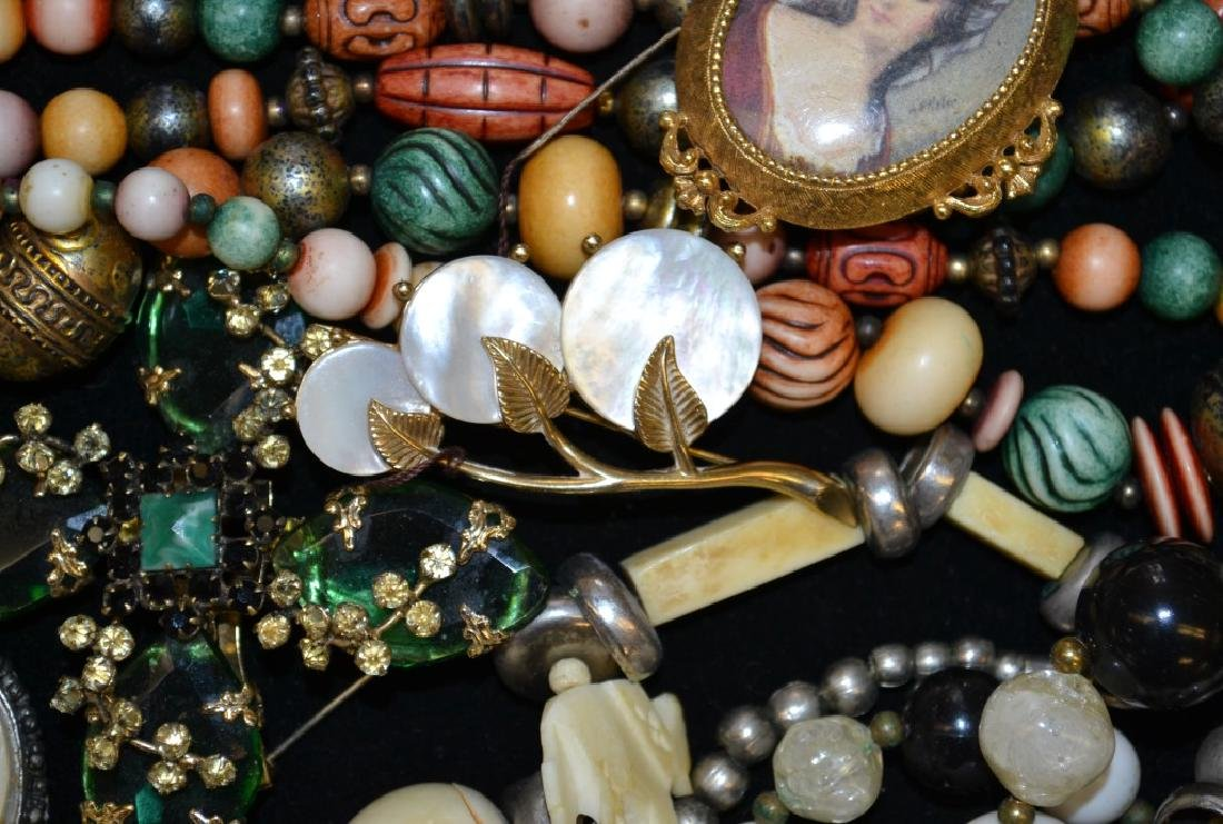Necklace and Brooch Grouping - 2