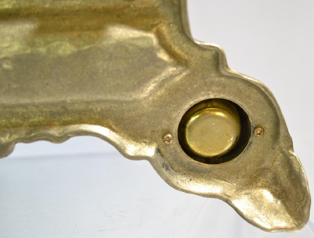 Solid Brass Double Inkwell - 3