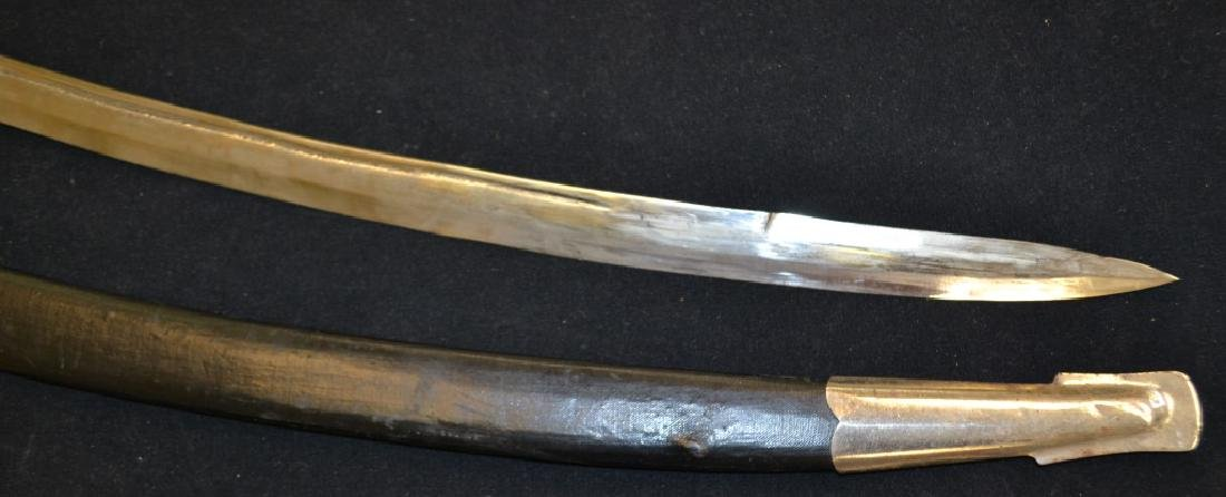 Indian Practice Sword and Scabbard - 2