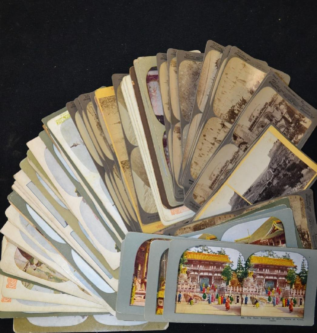 50 Stereoscopic View Cards