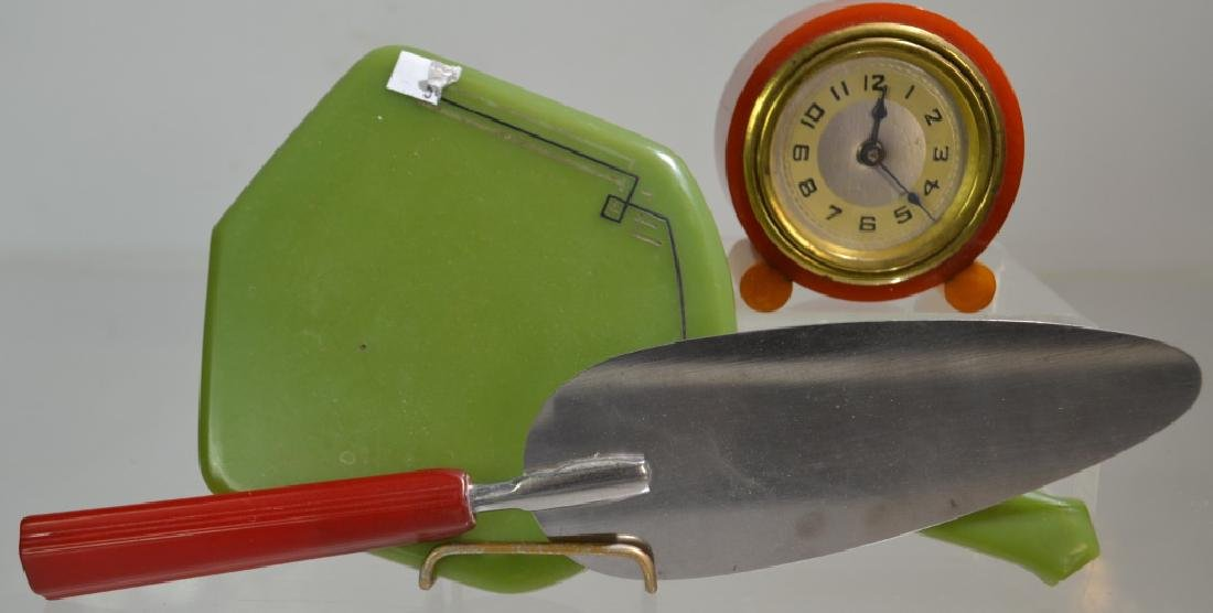 Bakelite Clock and More