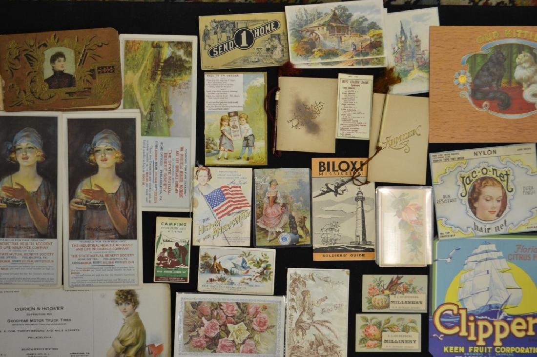 Vintage Advertising/Ephemera Cards