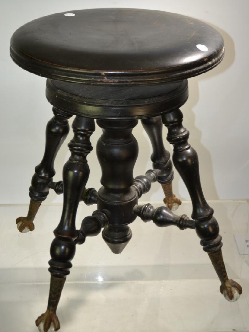 Victorian Piano Stool