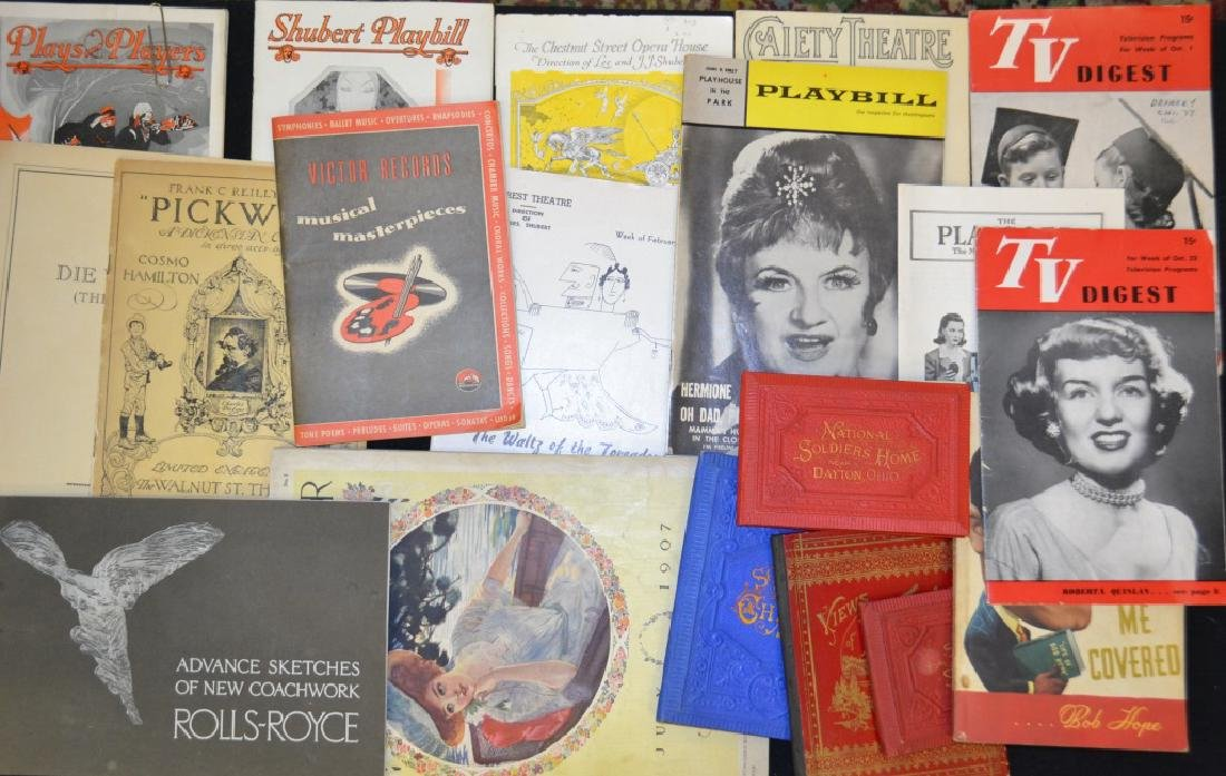 Vintage Photos and Magazines