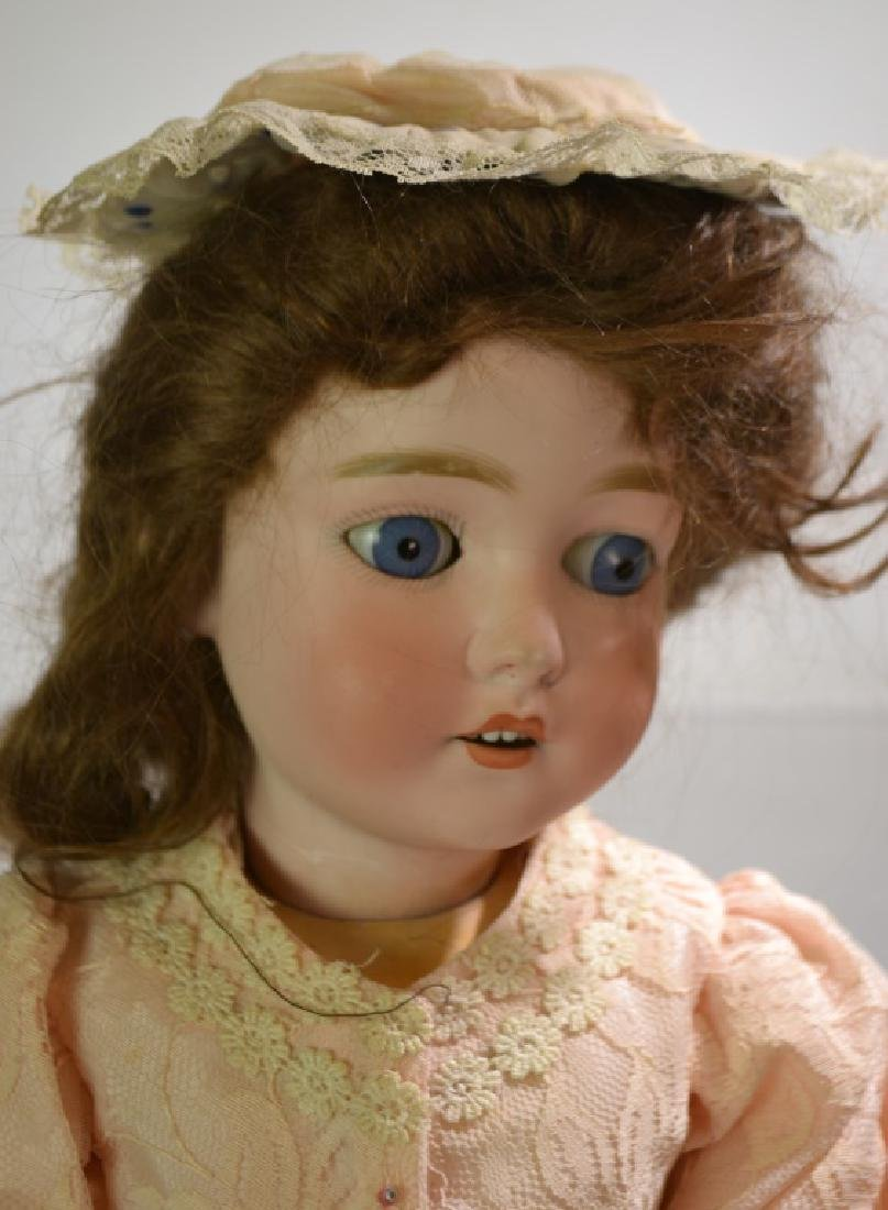 Queen Louise Porcelain Head Doll