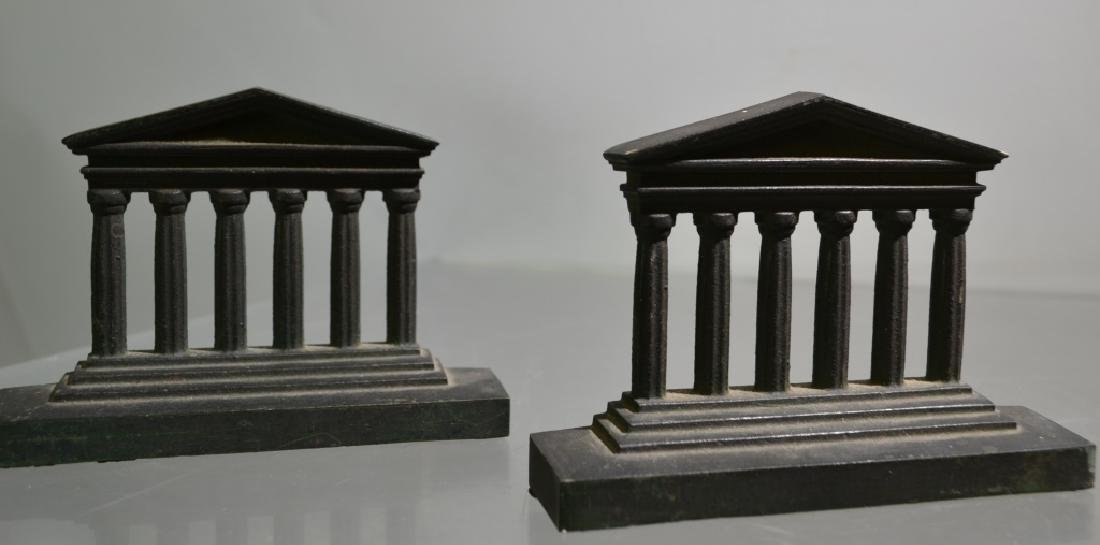 Bradley and Hubbard Bronze Bookends