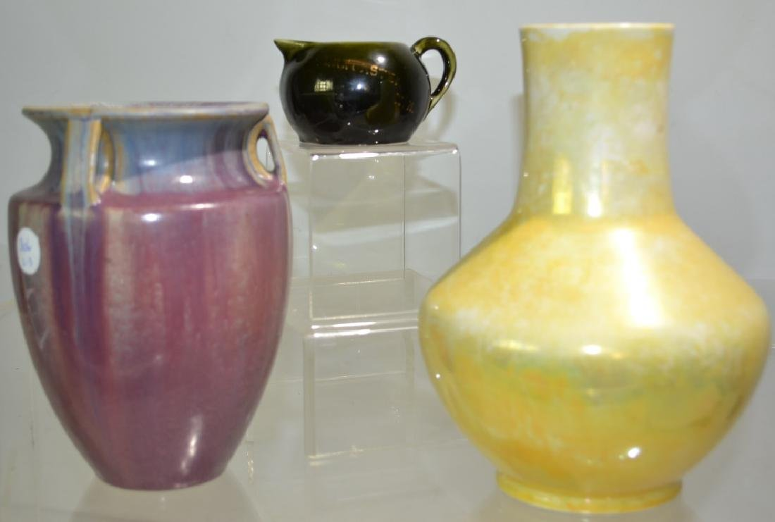 Ruskin and Fulper Pottery Grouping