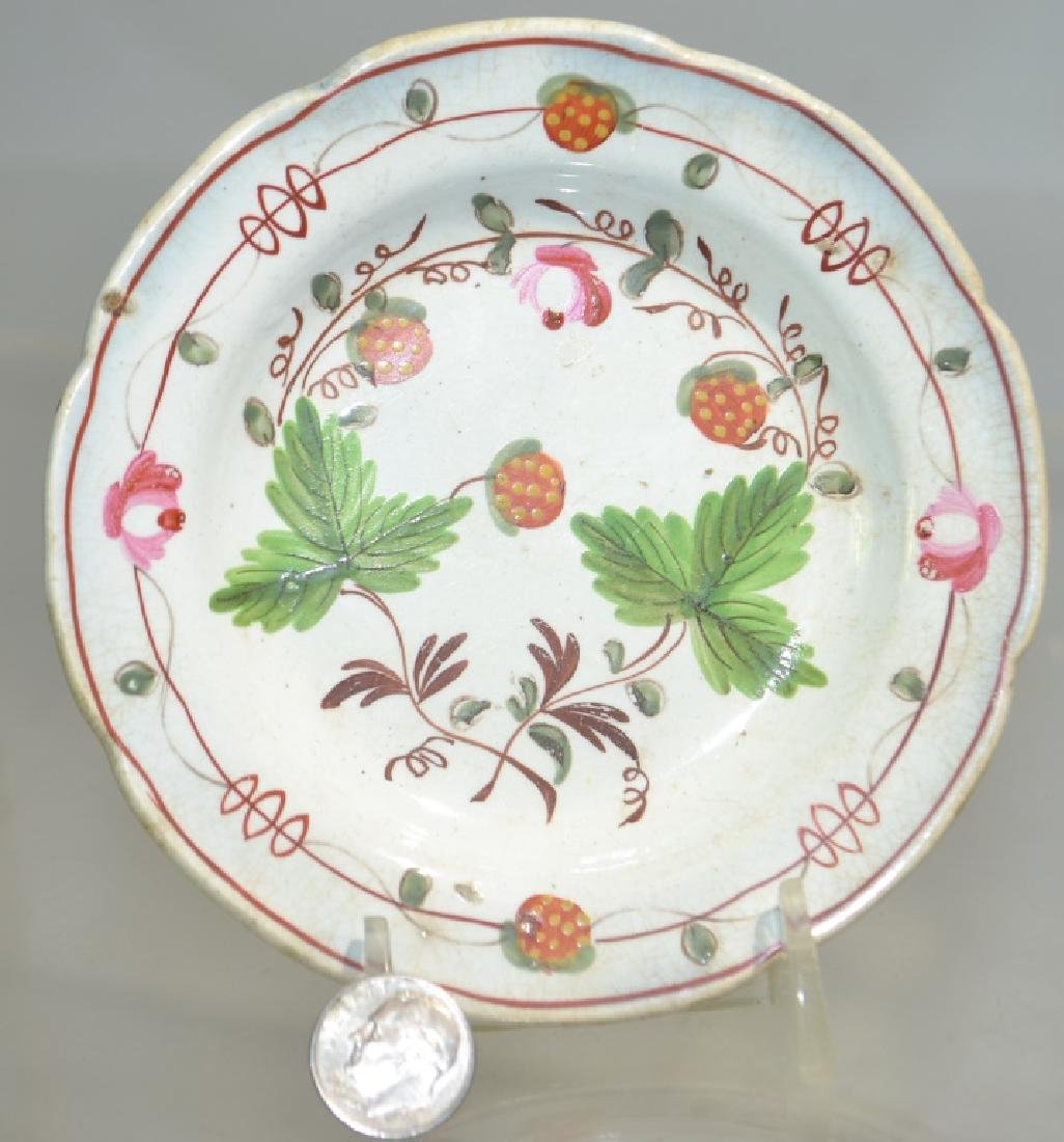 Princess Rose and Strawberry Cup Plate
