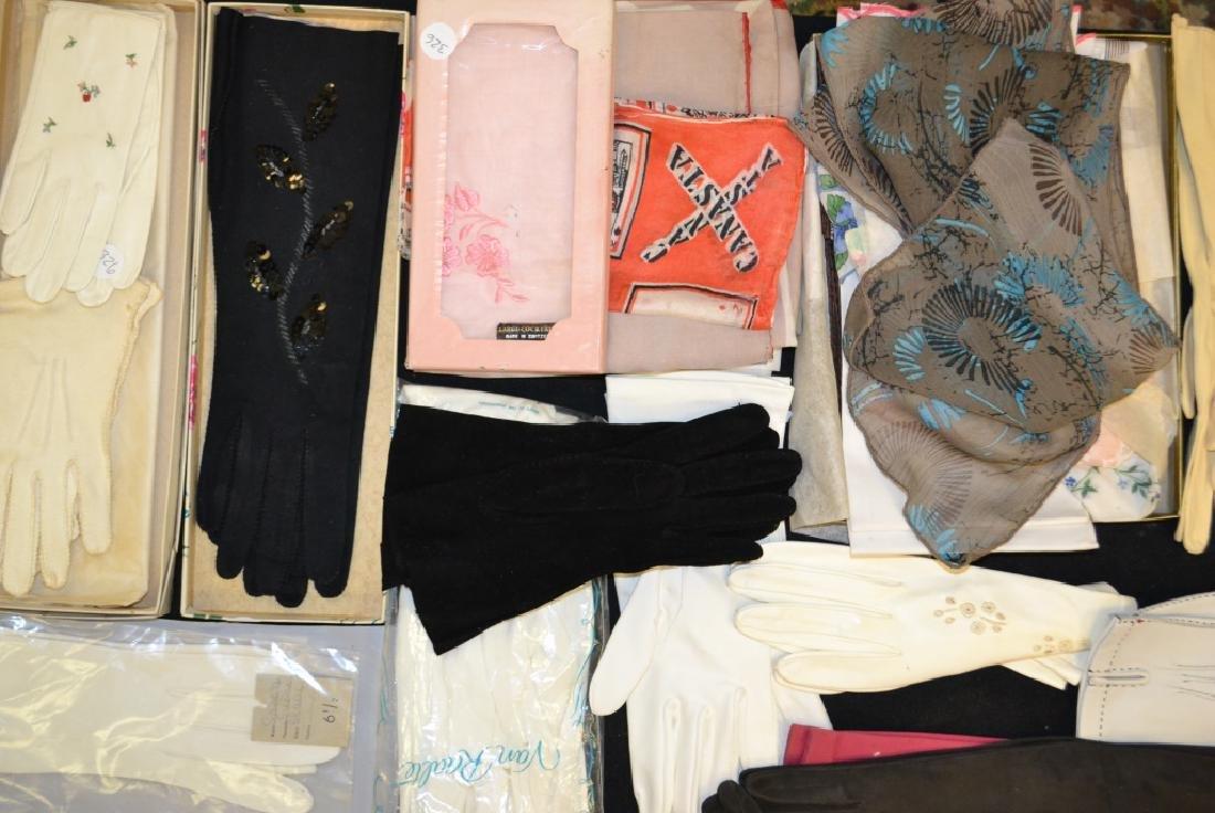 Vintage Ladies Gloves and Scarves