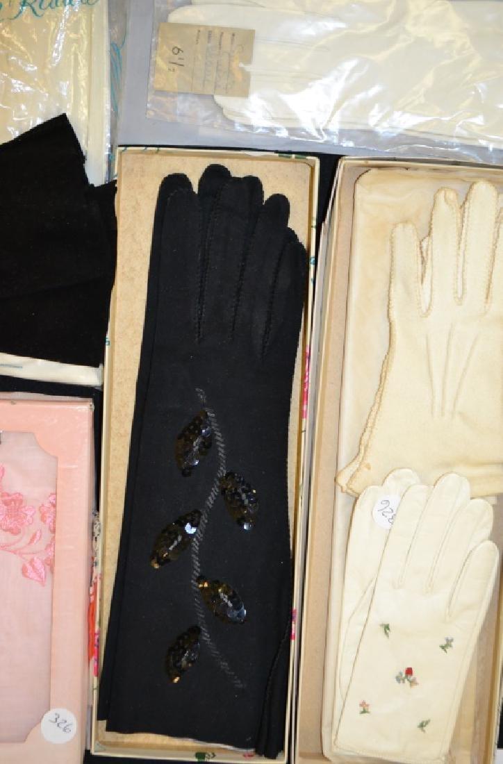 Vintage Ladies Gloves and Scarves - 2
