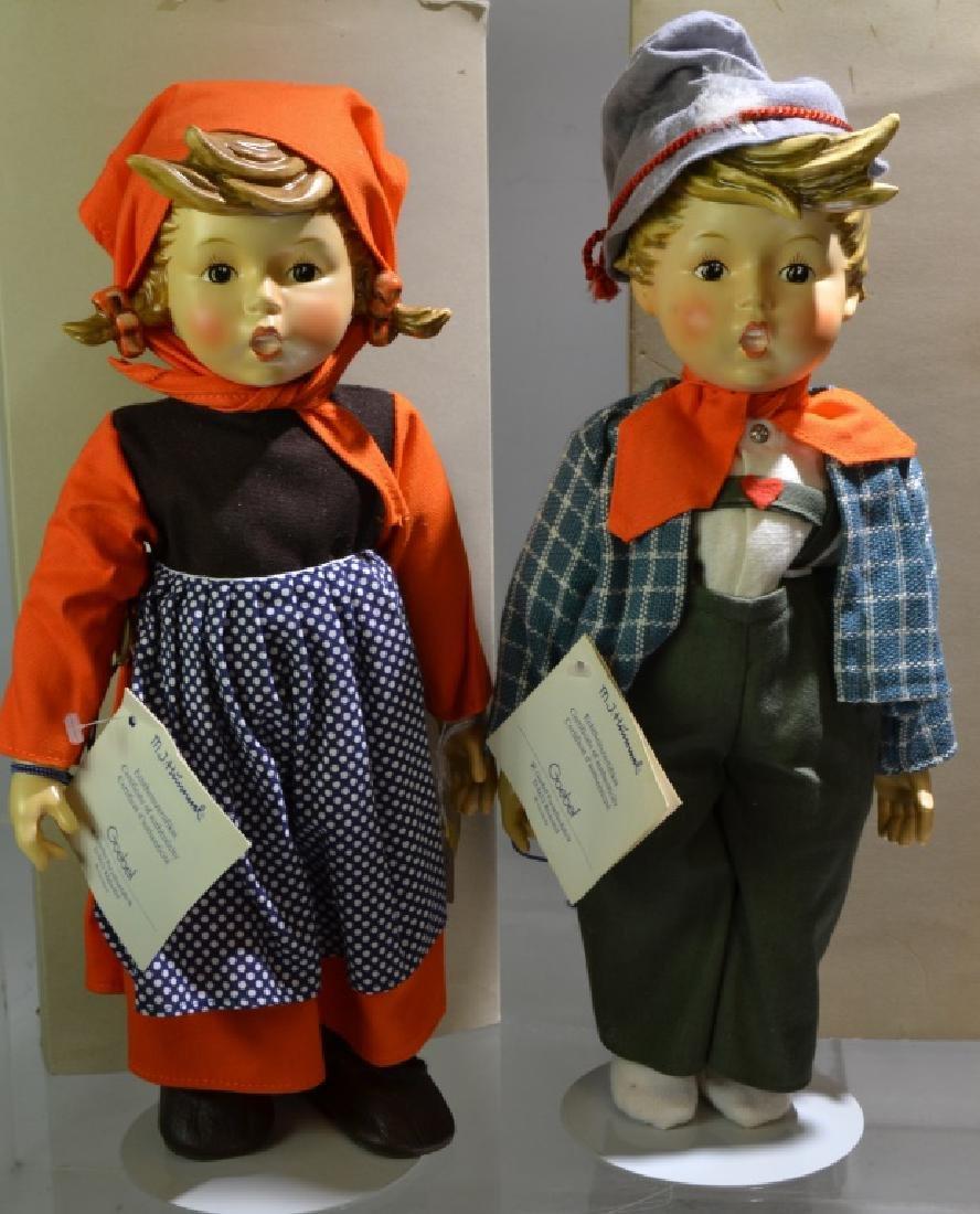 Pair of Hummel Dolls