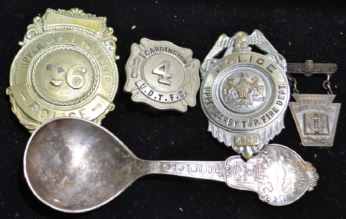 Vintage Police Badges and More