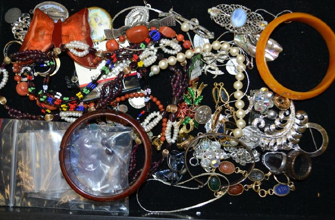 Bake Lite and Costume Jewelry Grouping