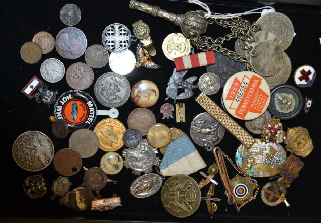 Pendant and Coin Grouping