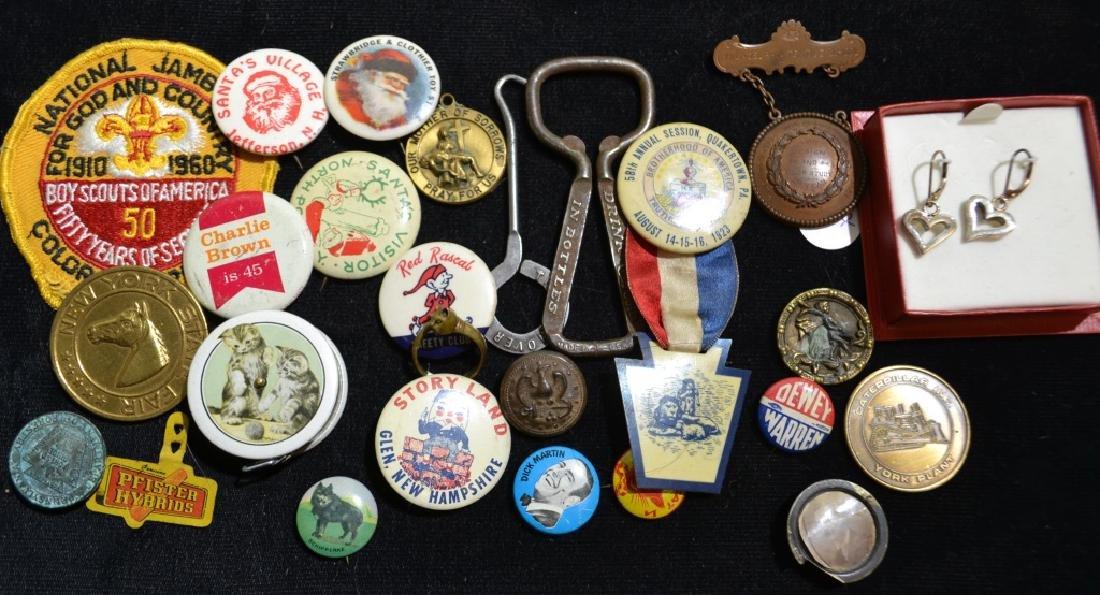 Vintage Pin Backs and More