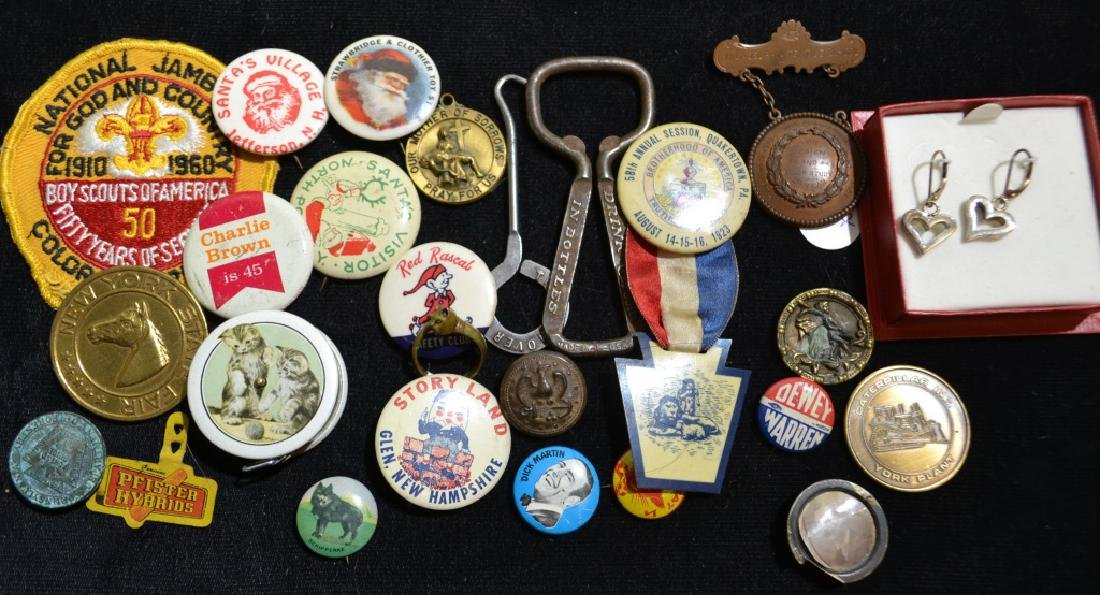 Vintage Pin Backs and More