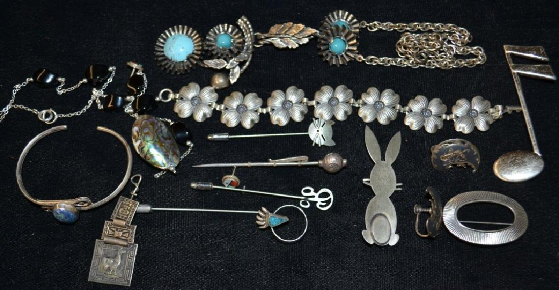Sterling Jewelry Grouping