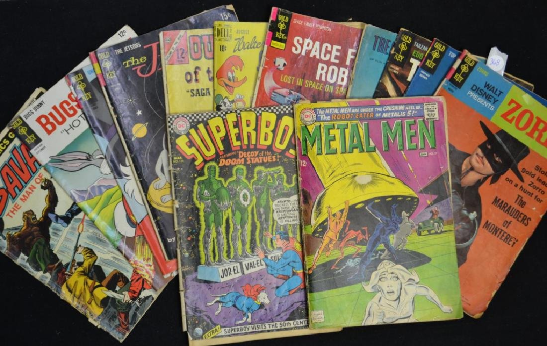 Vintage Comic Book Grouping