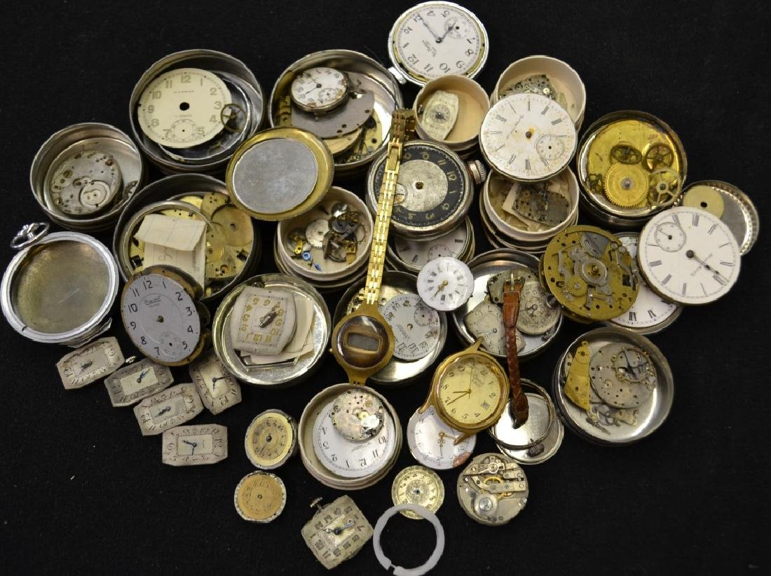 Pocket Watch Movements and Parts