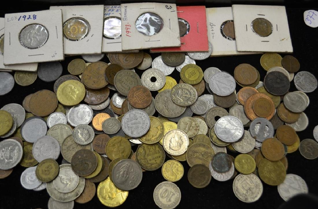 Large Grouping of Foreign Coins