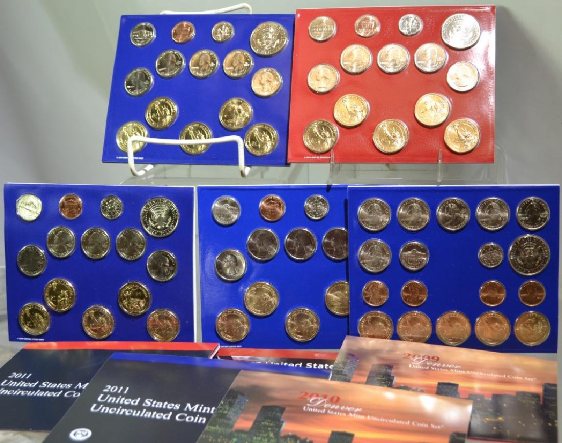 United States Mint Uncirculated Coin Sets