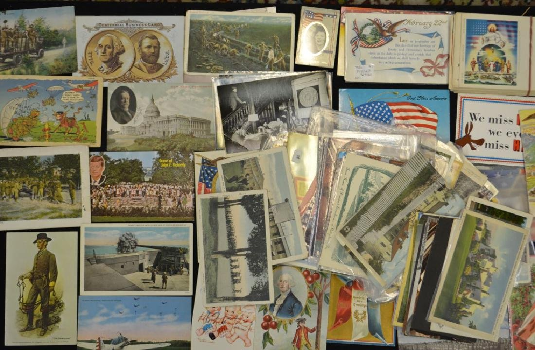 Political and Military Postcards