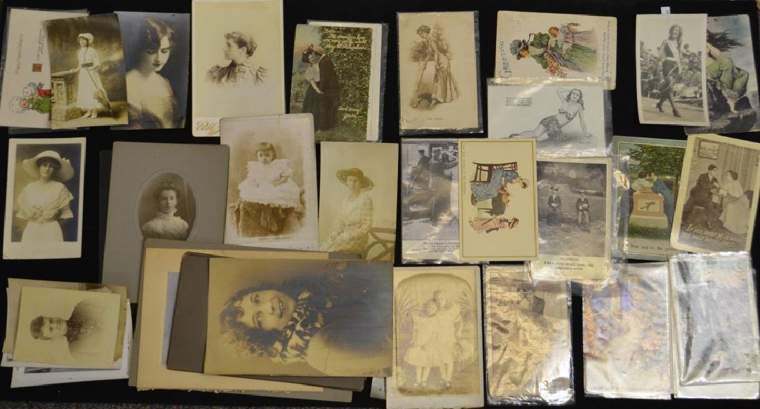 Vintage Postcards and Photos of Women
